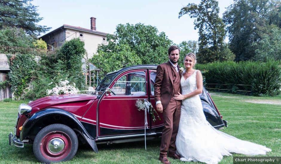 Le mariage de Yohann et Claire à Saint-Paul-en-Jarez, Loire