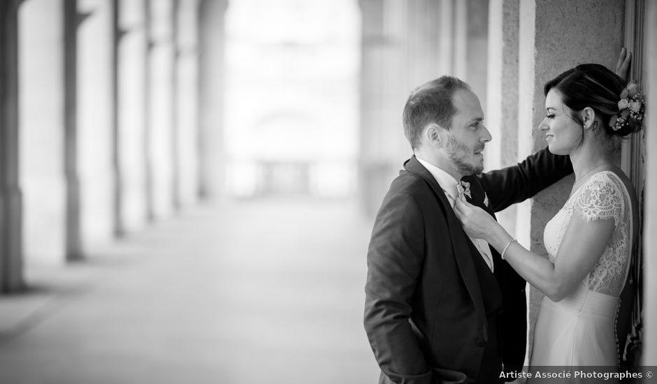 Le mariage de Yann et Cyrielle à Saint-Christophe-des-Bardes, Gironde