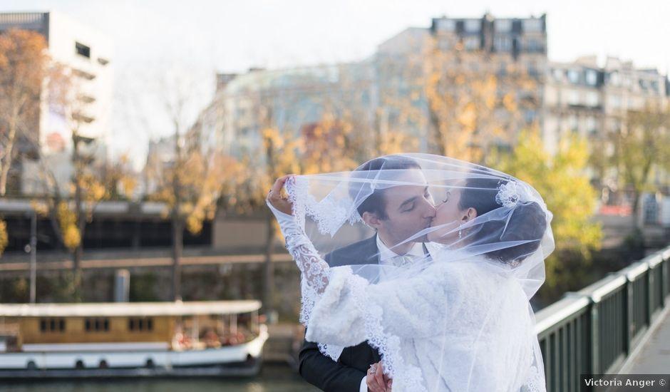 Le mariage de Michel et Olga à Paris, Paris