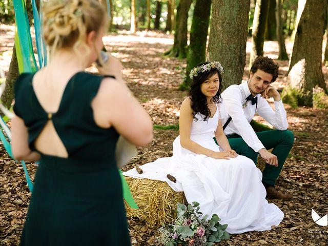 Le mariage de Youcef et Esther à Eckartswiller, Bas Rhin 17