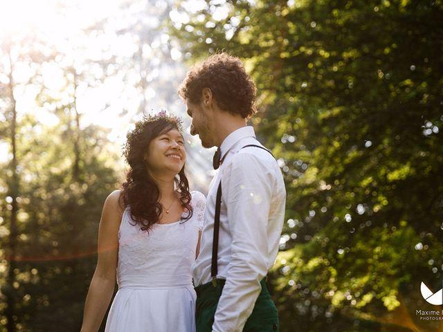 Le mariage de Youcef et Esther à Eckartswiller, Bas Rhin 1