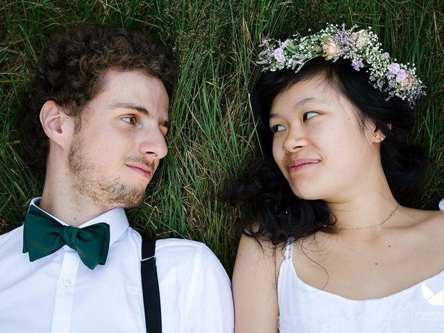 Le mariage de Youcef et Esther à Eckartswiller, Bas Rhin 30