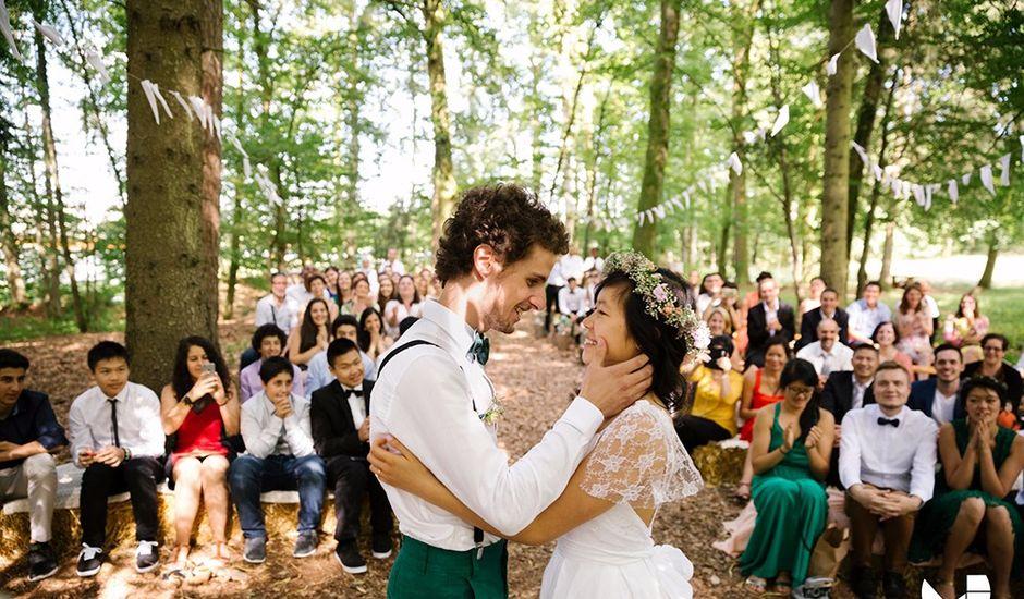 Le mariage de Youcef et Esther à Eckartswiller, Bas Rhin