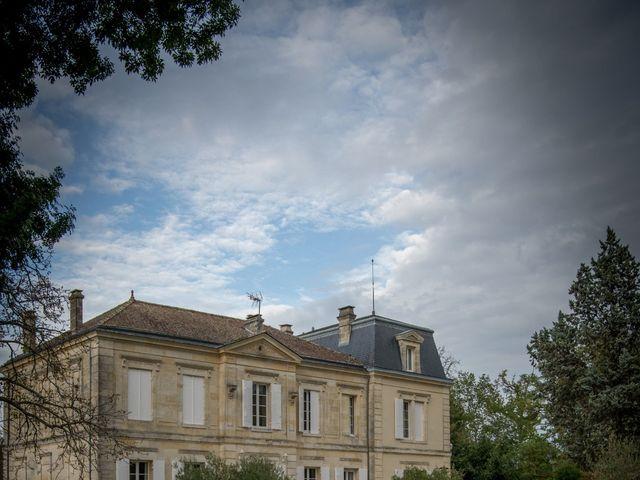 Le mariage de Sebastien et Marlene à Moulon, Gironde 33