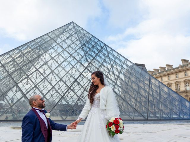 Le mariage de Chouky et Sabrina à Santeny, Val-de-Marne 19