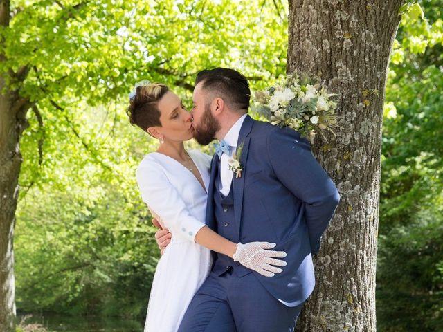 Le mariage de Jordan et Sandra à Tracy-le-Val, Oise 1