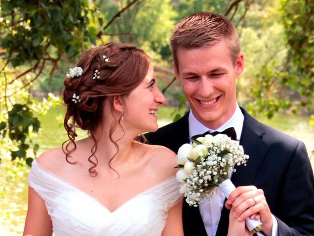 Le mariage de Thomas et Aline à Vouvray, Indre-et-Loire 8