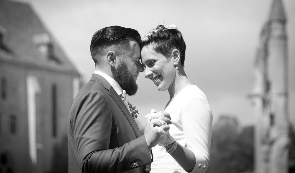 Le mariage de Jordan et Sandra à Tracy-le-Val, Oise