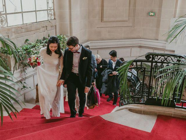 Le mariage de David et Khanh à Paris, Paris 5