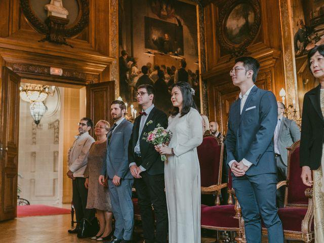 Le mariage de David et Khanh à Paris, Paris 6