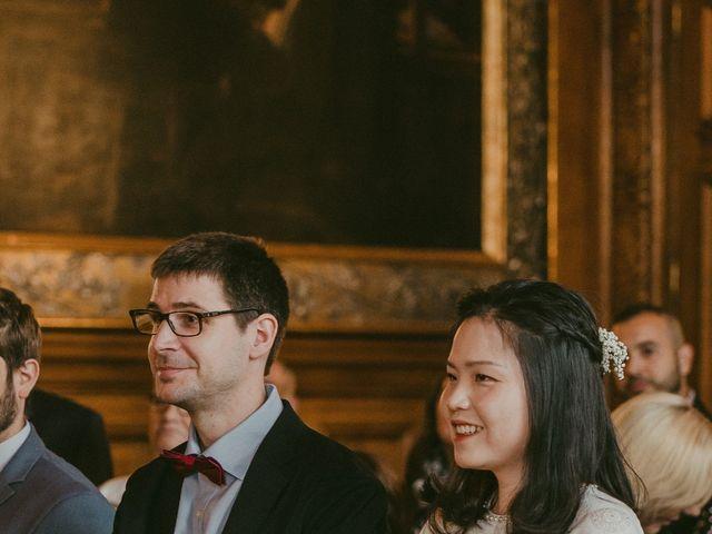 Le mariage de David et Khanh à Paris, Paris 8