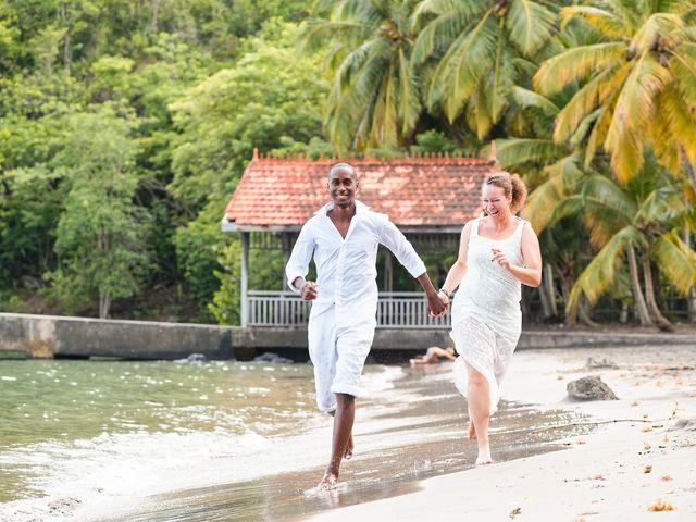 Le mariage de Loïc et Emeline à Fort-de-France, Martinique 1