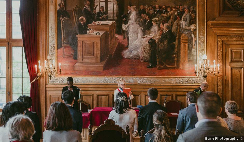 Le mariage de David et Khanh à Paris, Paris