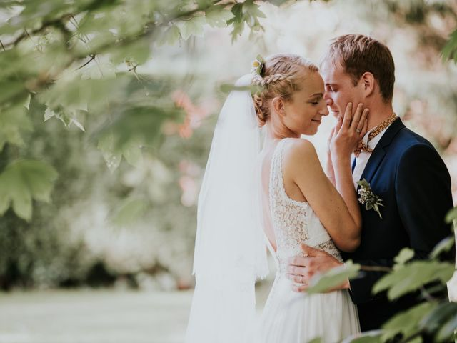 Le mariage de Justine et David