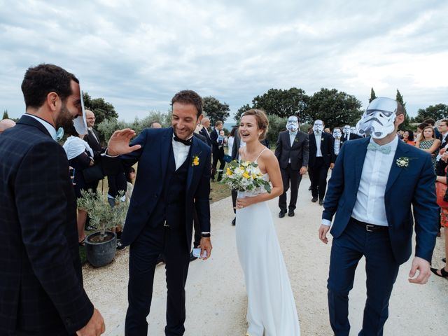 Le mariage de Alexandre et Aurélie à Grignan, Drôme 42