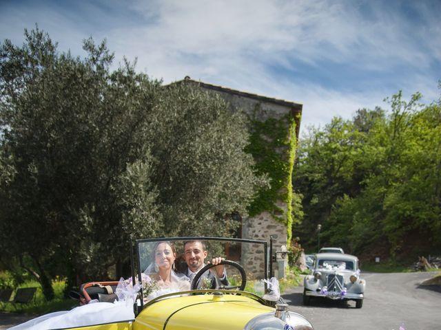 Le mariage de Romain et Caroline à Bugarach, Aude 15