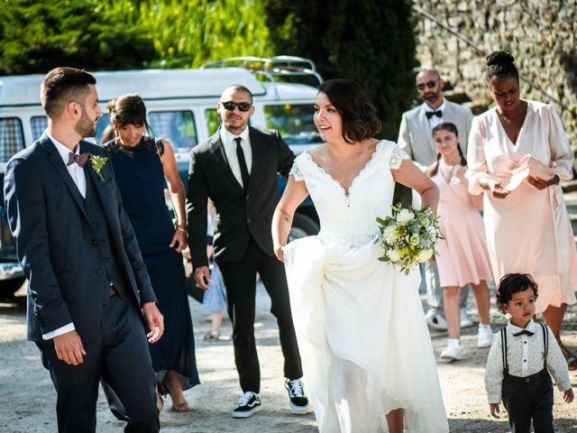 Le mariage de François et Noémie à Balazuc, Ardèche 10