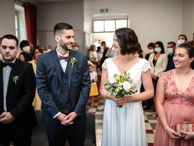 Le mariage de François et Noémie à Balazuc, Ardèche 12