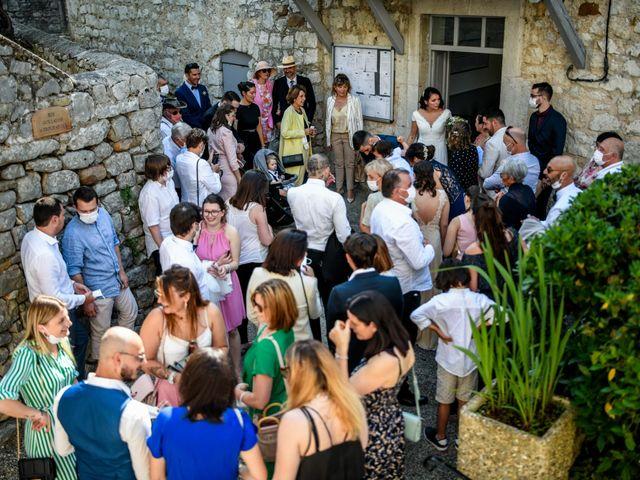 Le mariage de François et Noémie à Balazuc, Ardèche 14