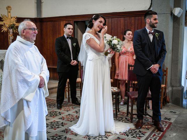Le mariage de François et Noémie à Balazuc, Ardèche 16