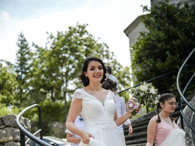 Le mariage de François et Noémie à Balazuc, Ardèche 22