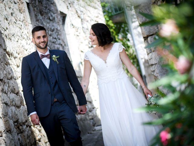 Le mariage de François et Noémie à Balazuc, Ardèche 23