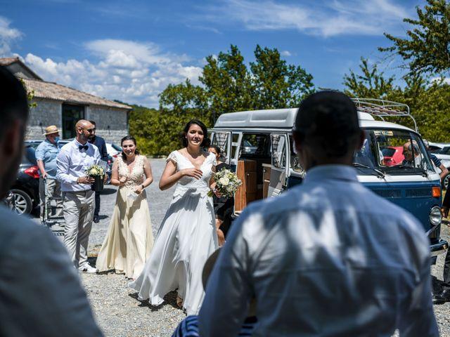 Le mariage de François et Noémie à Balazuc, Ardèche 28