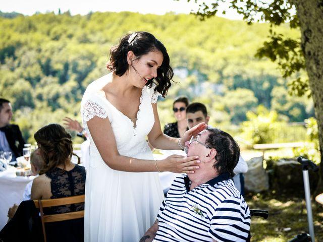 Le mariage de François et Noémie à Balazuc, Ardèche 32