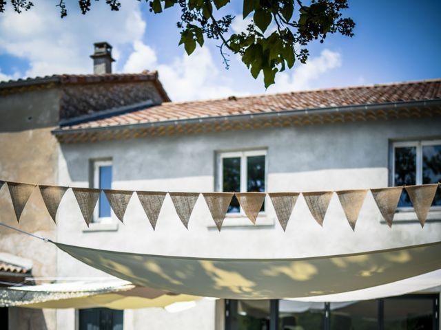 Le mariage de François et Noémie à Balazuc, Ardèche 40