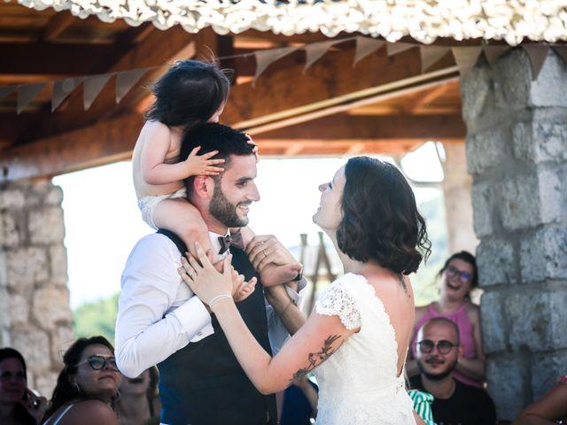 Le mariage de François et Noémie à Balazuc, Ardèche 46