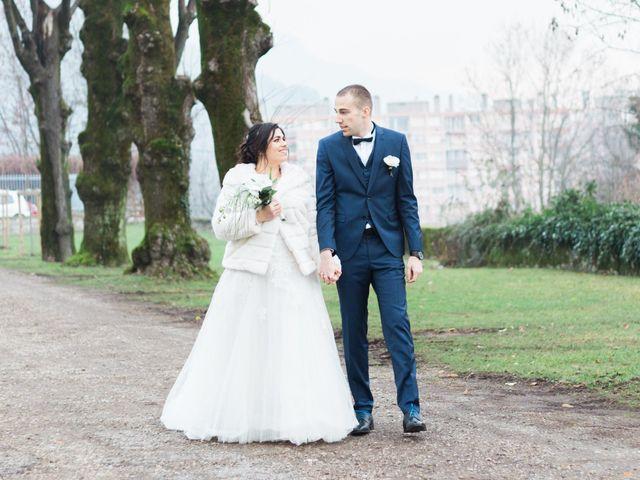 Le mariage de Quentin et Debora à Noyarey, Isère 12