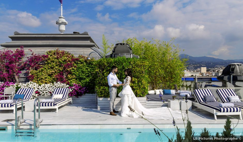 Le mariage de Raphaël et Caroline à Nice, Alpes-Maritimes
