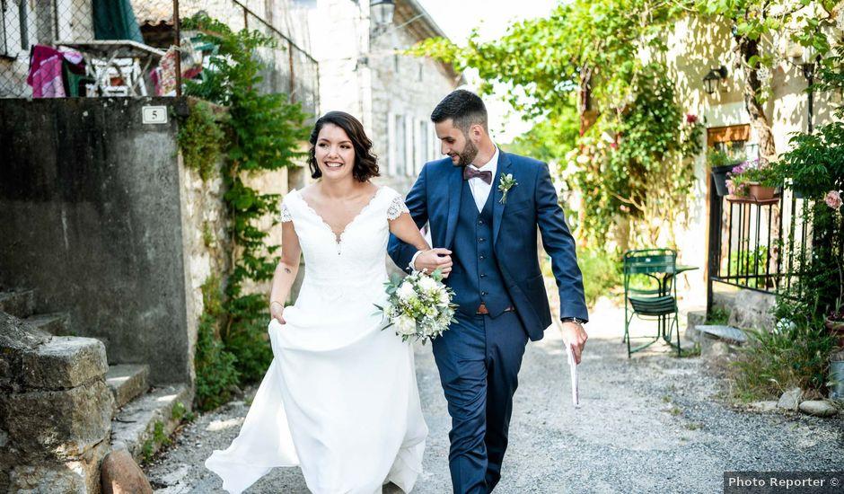 Le mariage de François et Noémie à Balazuc, Ardèche