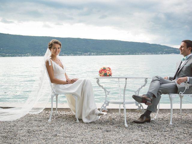 Le mariage de Jérôme et Valentine à Menthon-Saint-Bernard, Haute-Savoie 2