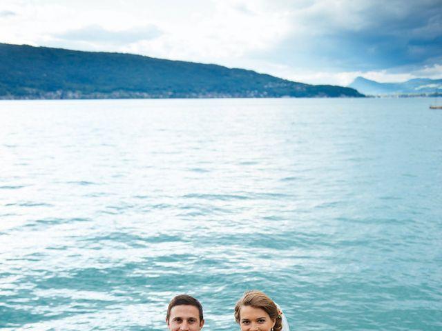 Le mariage de Jérôme et Valentine à Menthon-Saint-Bernard, Haute-Savoie 46