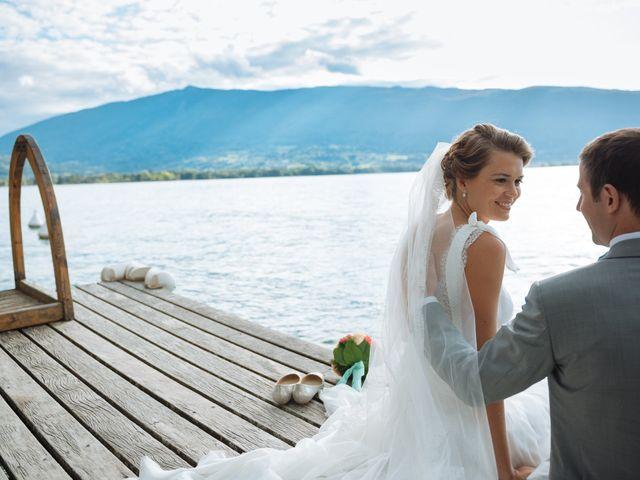 Le mariage de Jérôme et Valentine à Menthon-Saint-Bernard, Haute-Savoie 47