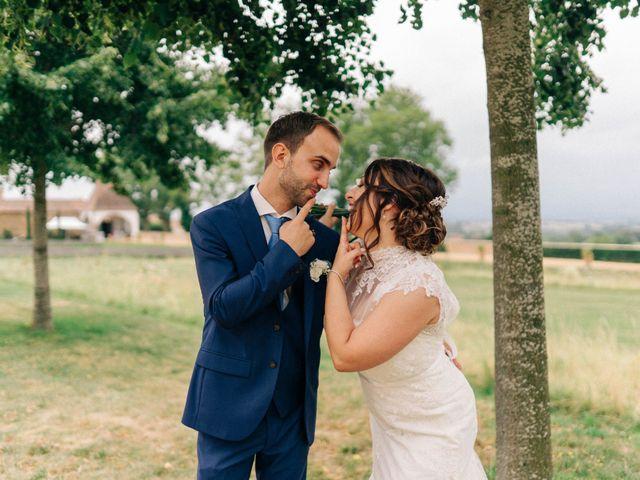 Le mariage de Pierre et Joanne à Saint-Marcel-de-Félines, Loire 45