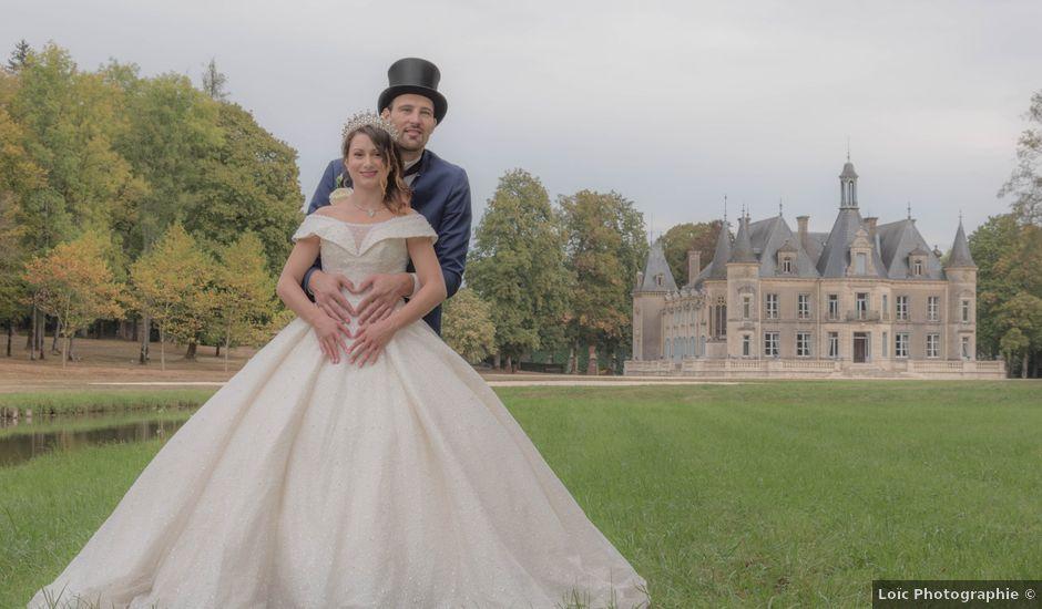 Le mariage de Carl et Vanessa à Thillombois, Meuse