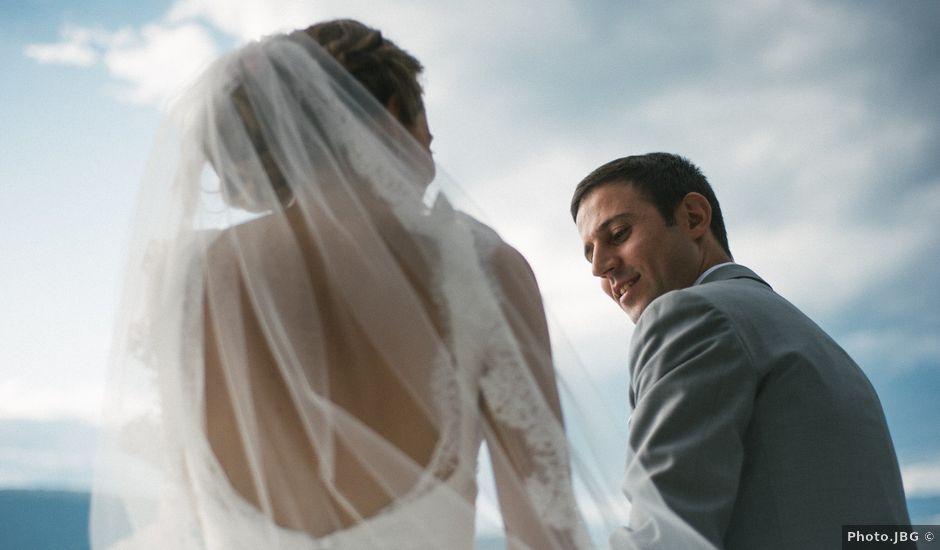 Le mariage de Jérôme et Valentine à Menthon-Saint-Bernard, Haute-Savoie