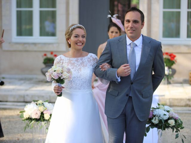 Le mariage de Serge et Rossy à Benest, Charente 8