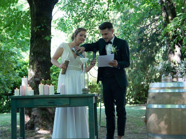 Le mariage de Mathias et Chloé à Grospierres, Ardèche 42