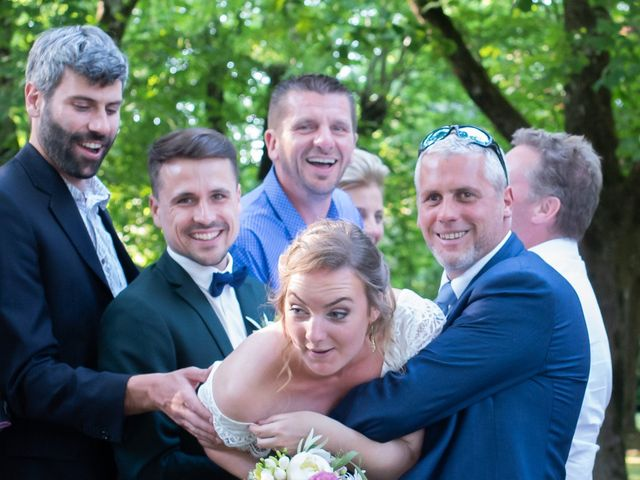 Le mariage de Mathias et Chloé à Grospierres, Ardèche 45