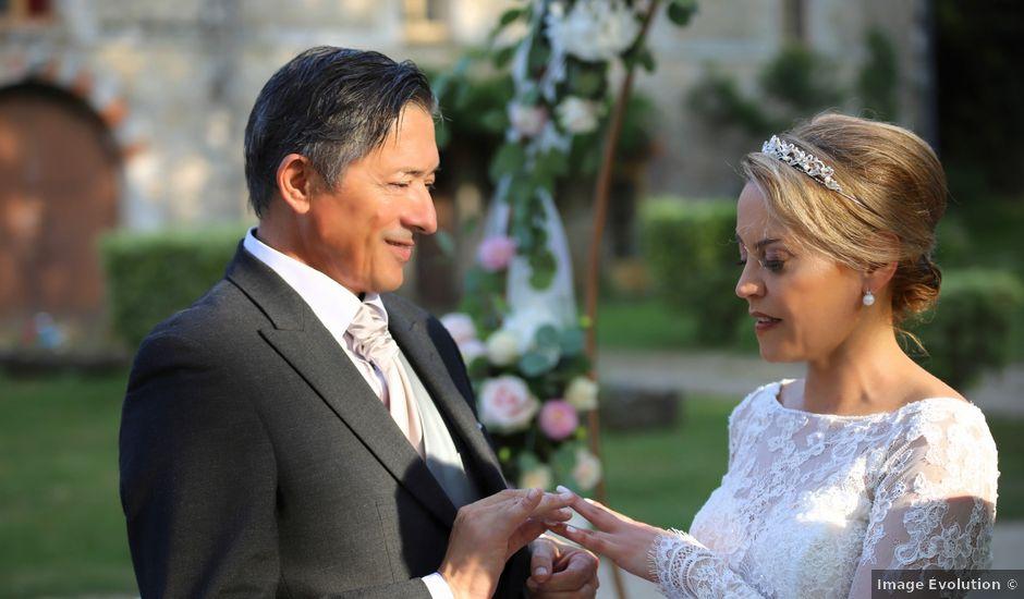 Le mariage de Serge et Rossy à Benest, Charente