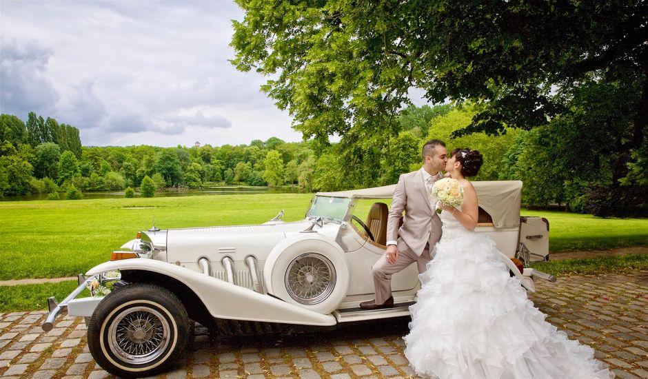 Le mariage de Christophe et Sandra  à Osny, Val-d'Oise
