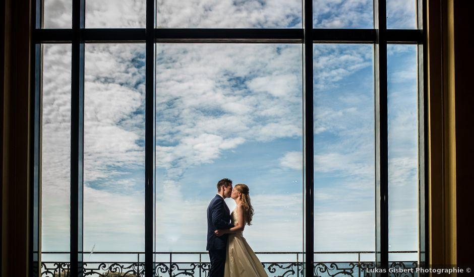 Le mariage de Gareth et Rebecca à Biarritz, Pyrénées-Atlantiques