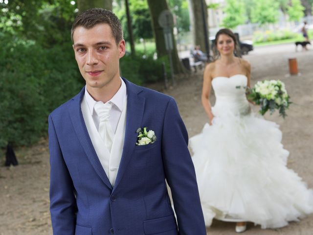 Le mariage de Nicolas et Joanna à Eckwersheim, Bas Rhin 5
