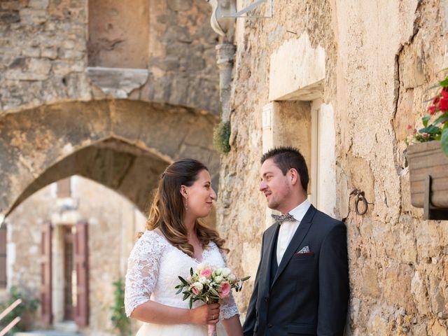 Le mariage de Bastien et Céline à Sainte-Eulalie-de-Cernon, Aveyron 2