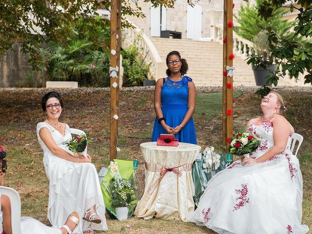 Le mariage de Marie Line et Nadege à Saint-Quentin-de-Baron, Gironde 6