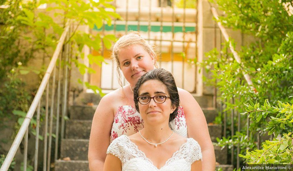 Le mariage de Marie Line et Nadege à Saint-Quentin-de-Baron, Gironde