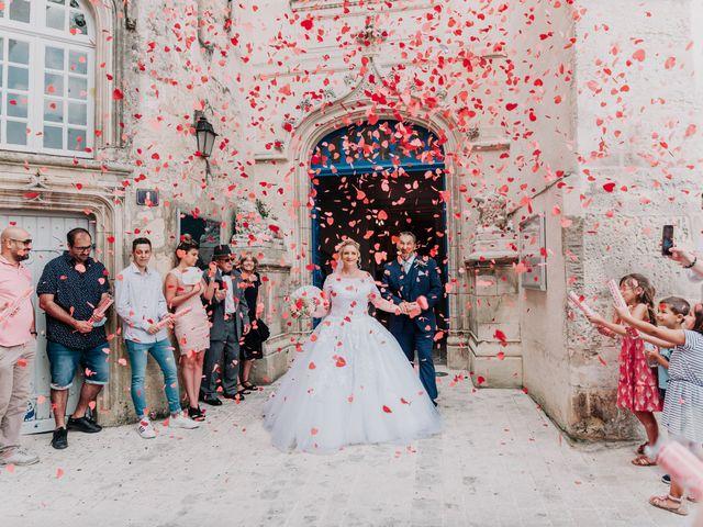Le mariage de Jean Michel et Sarah à Jonzac, Charente Maritime 23